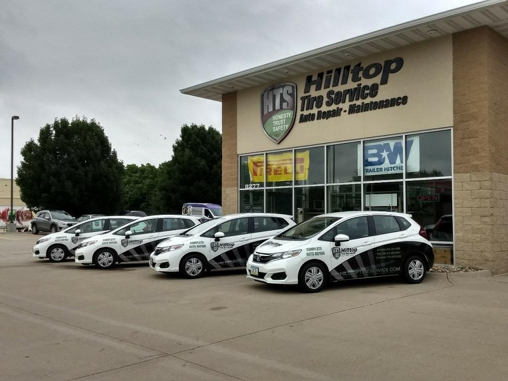 Brand New Shiny Fleet of Courtesy Cars!