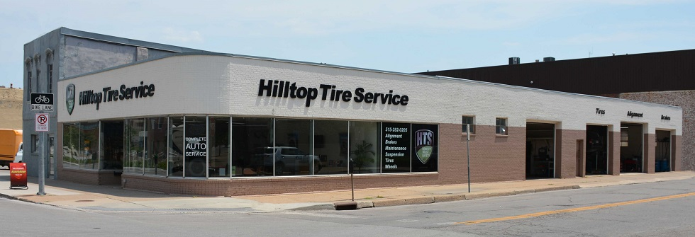 Used Tires Des Moines >> Downtown Location Hilltop Tire Service